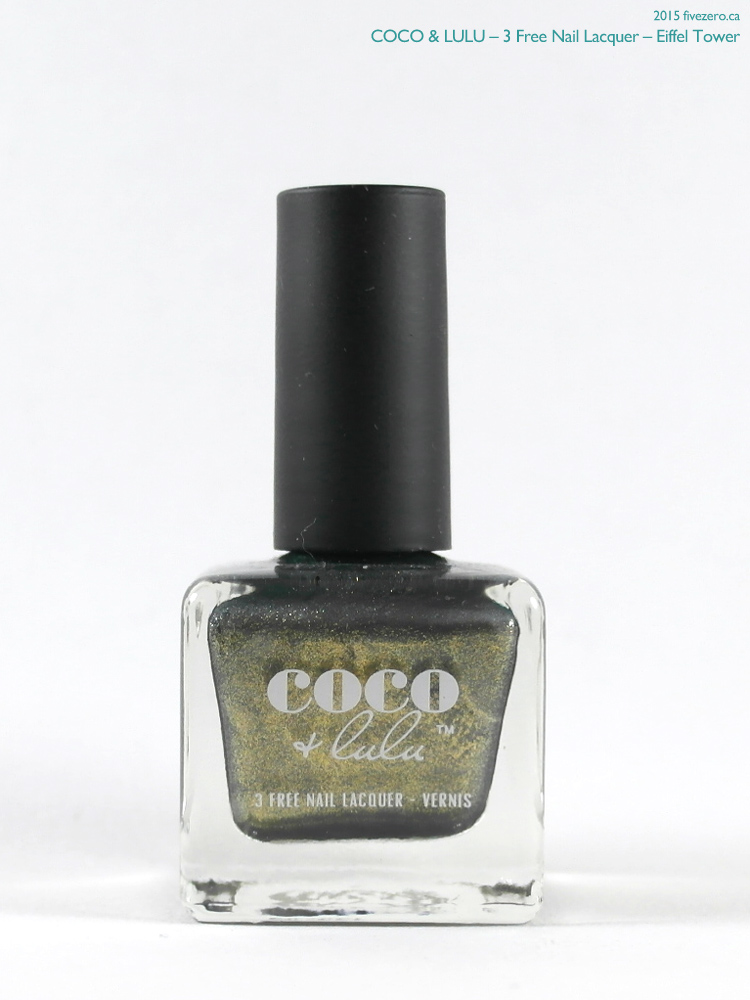 Coco & Lulu (by Cake Beauty) — Eiffel Tower (3 Free Nail Lacquer ...