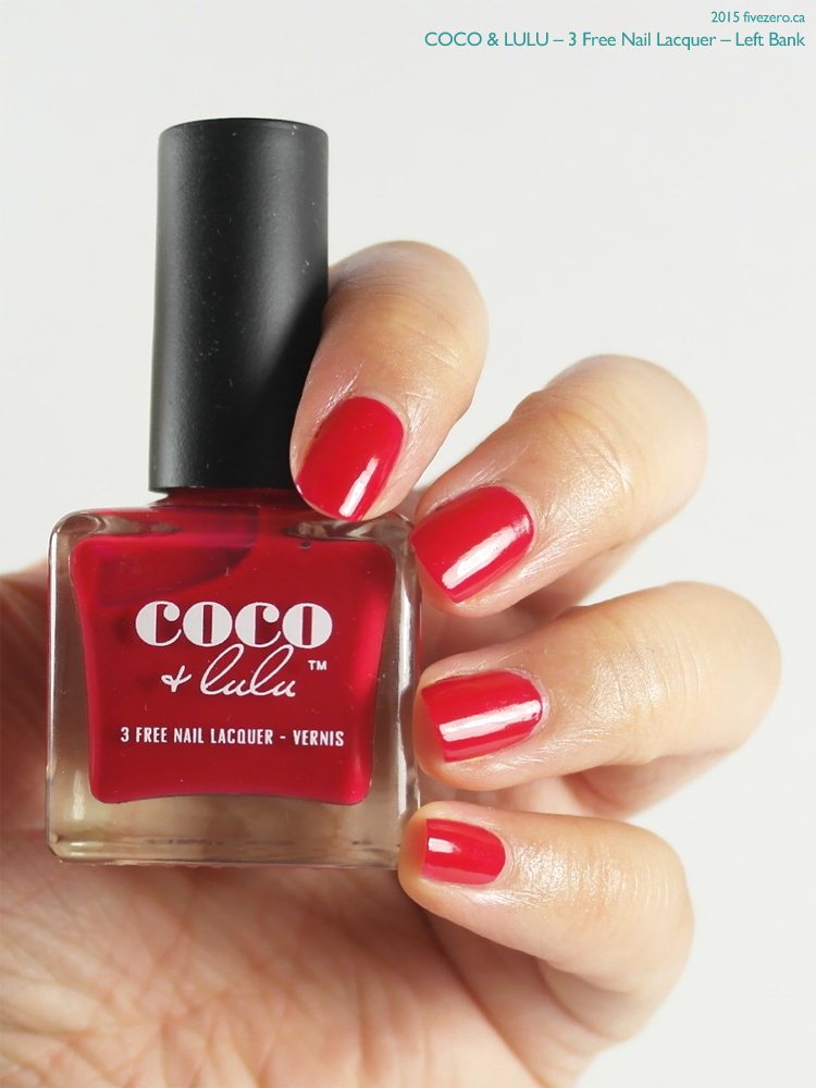 Coco & Lulu 3 Free Nail Lacquer in Left Bank, swatch