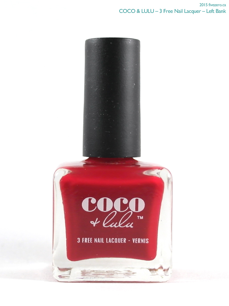 Coco & Lulu 3 Free Nail Lacquer in Left Bank