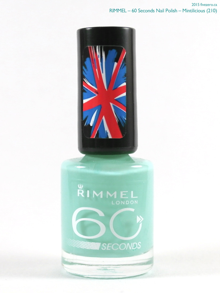 Rimmel 60 Seconds Nail Polish in Mintilicious