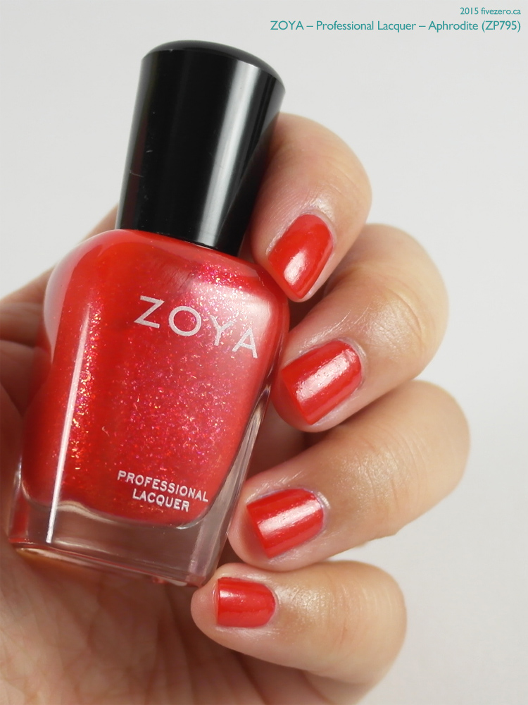 Zoya Professional Lacquer in Aphrodite, swatch