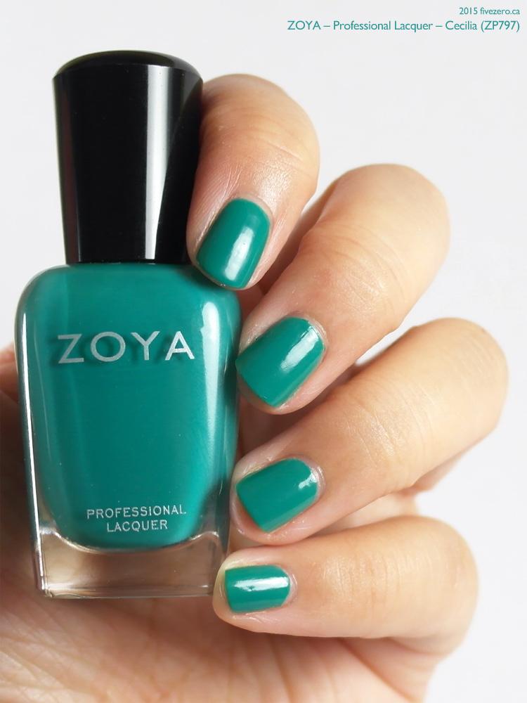 Zoya Professional Lacquer in Cecilia, swatch