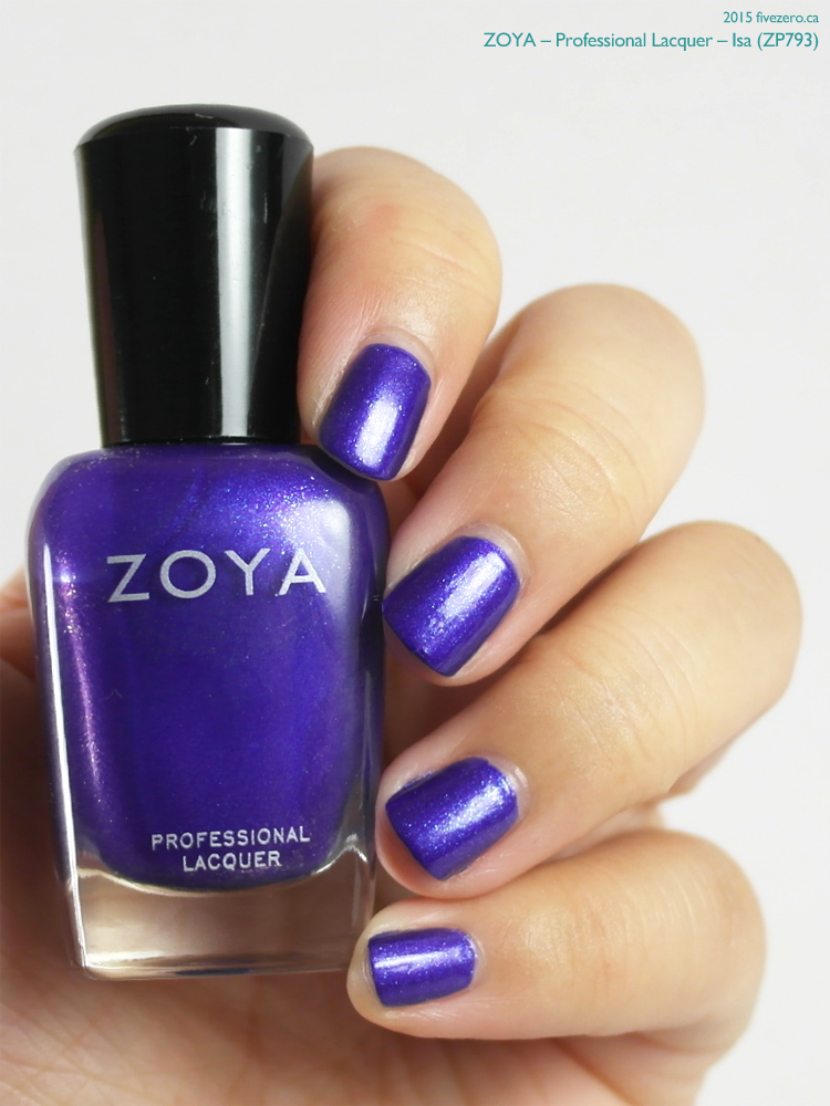 Zoya Professional Lacquer in Isa, swatch
