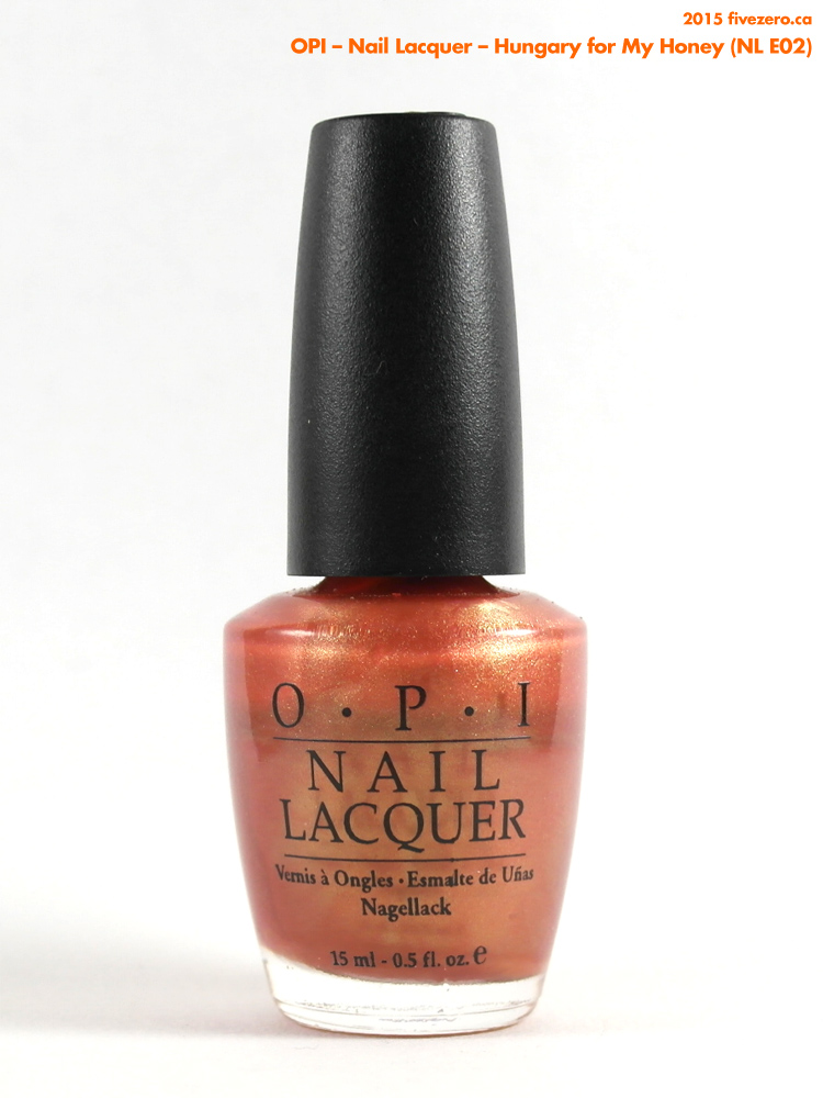 Throwback Thursday! OPI — Hungary for My Honey (Nail Lacquer) Swatch ...