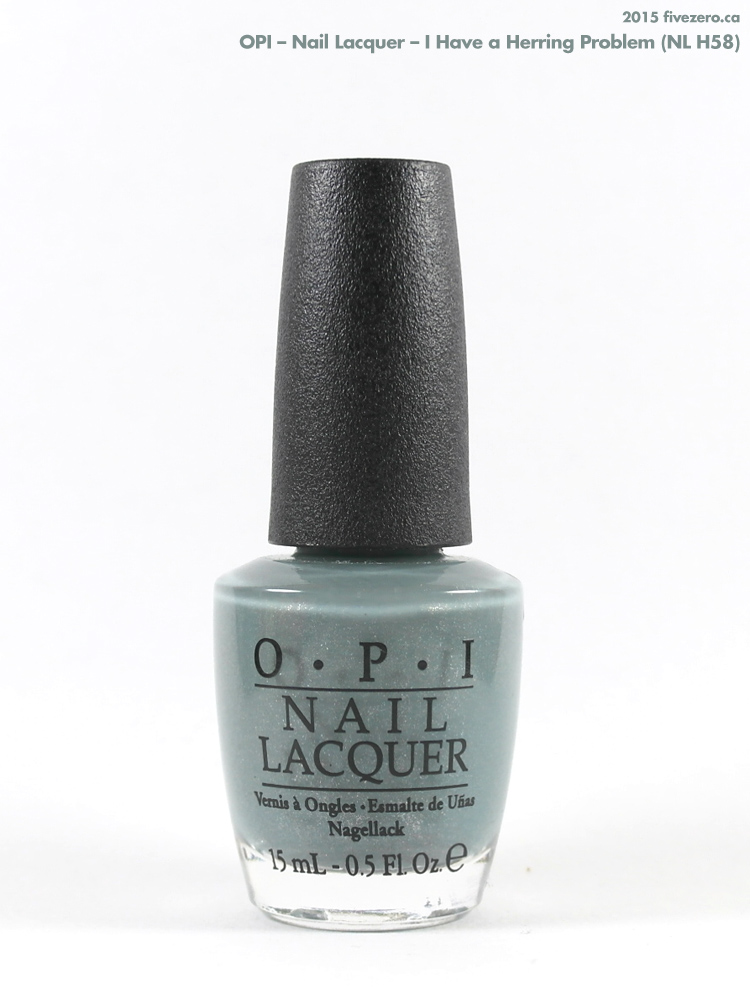 OPI Nail Lacquer in I Have a Herring Problem
