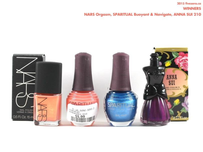 Winners Canada Haulage, NARS, SpaRitual, Anna Sui nail polish