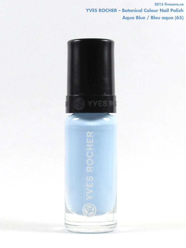 Yves Rocher Botanical Colour Nail Polish in Aqua Blue / Bleu aqua