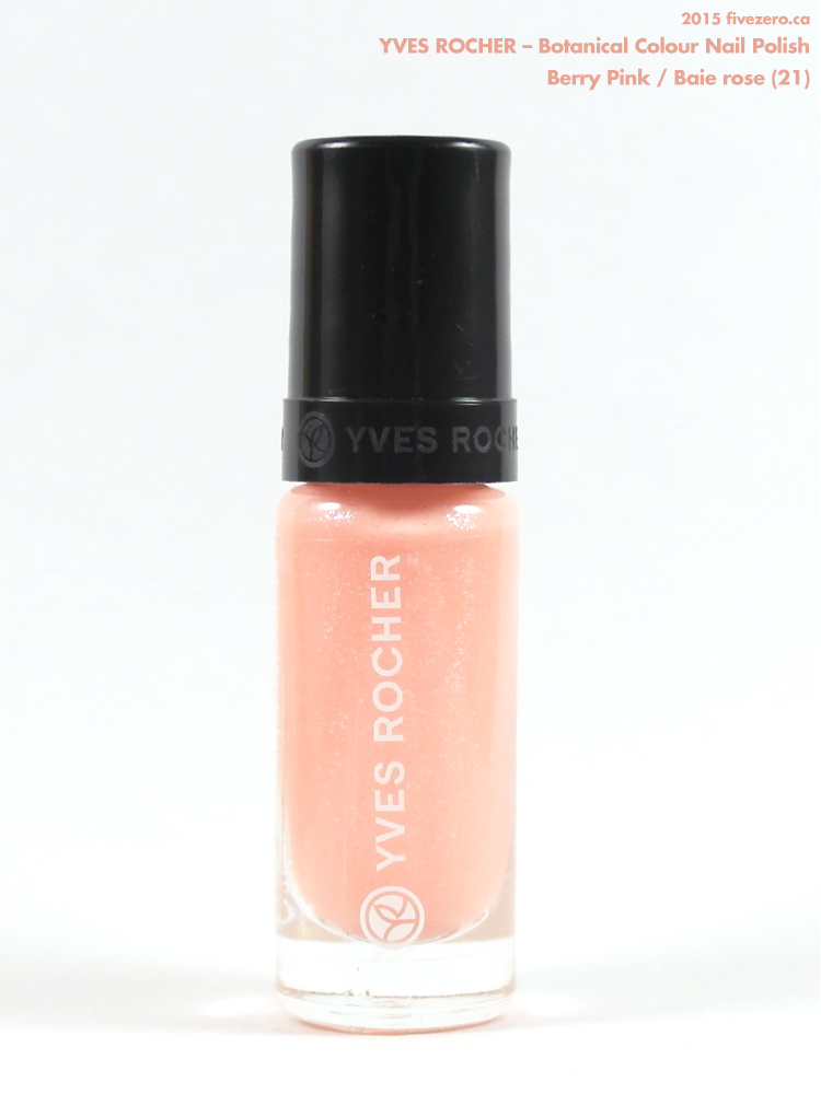 Yves Rocher Botanical Colour Nail Polish in Berry Pink / Baie rose