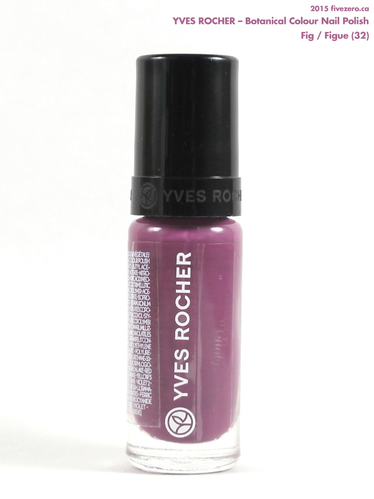 Yves Rocher Botanical Colour Nail Polish in Fig / Figue