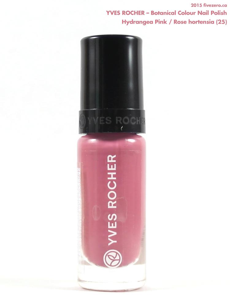 Yves Rocher Botanical Colour Nail Polish in Hydrangea Pink / Rose hortensia