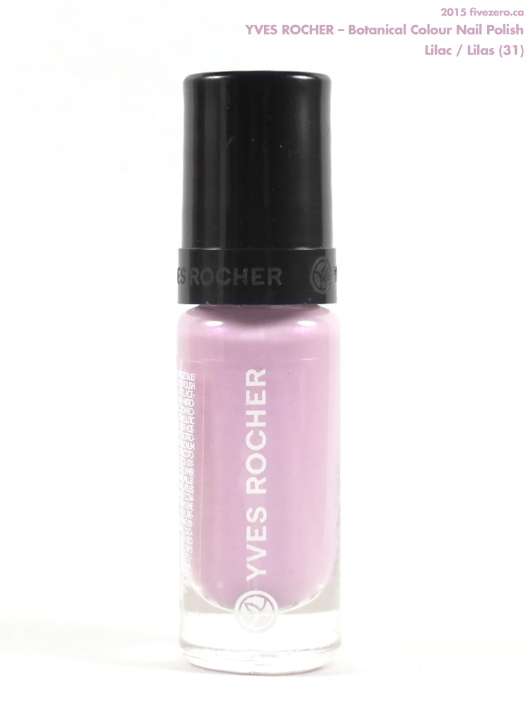 Yves Rocher Botanical Colour Nail Polish in Lilac / Lilas