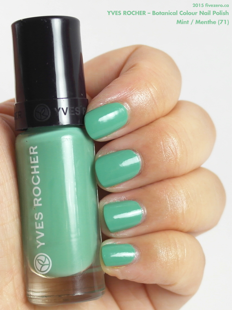 Yves Rocher Botanical Colour Nail Polish in Mint / Menthe