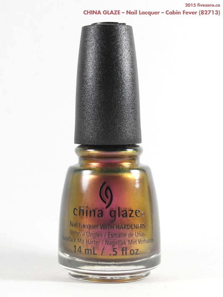 China Glaze Nail Lacquer in Cabin Fever