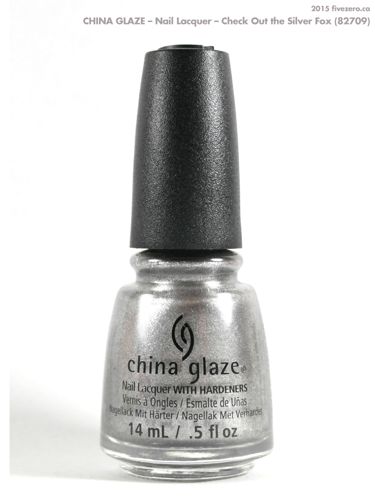 China Glaze Nail Lacquer in Check Out the Silver Fox