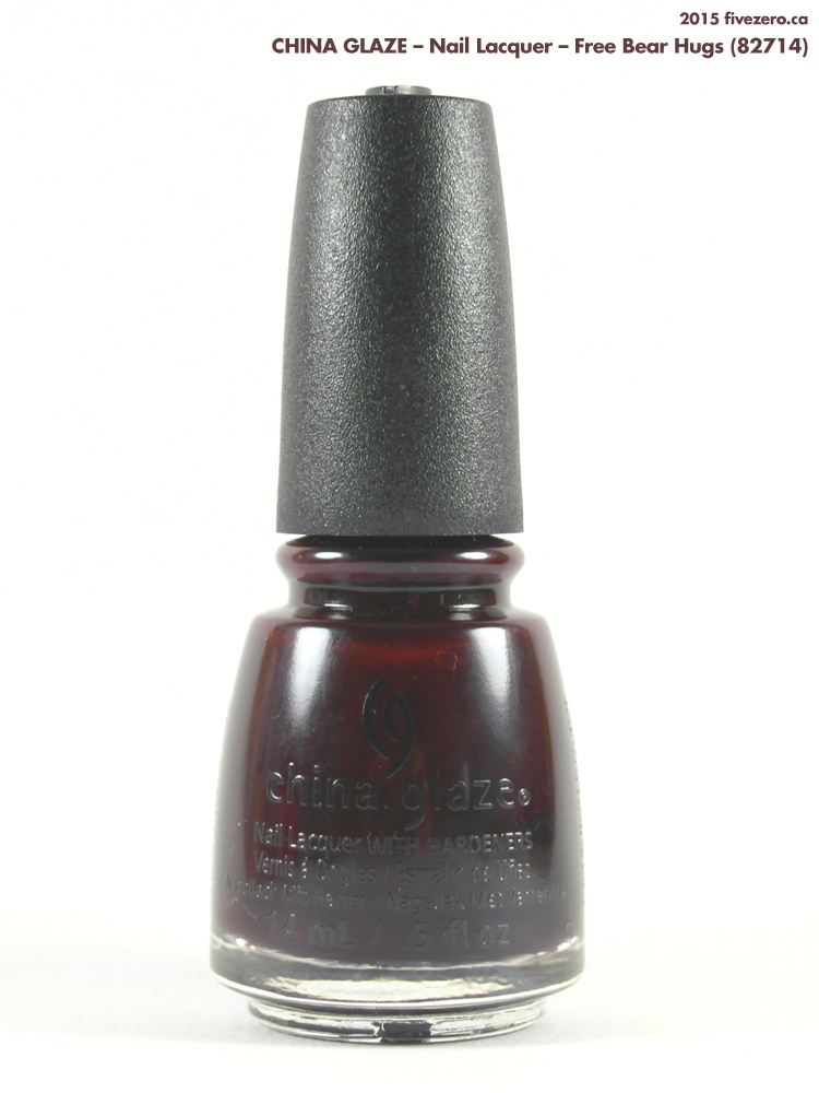China Glaze Nail Lacquer in Free Bear Hugs