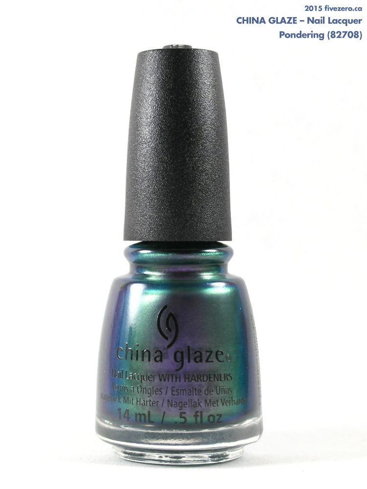 China Glaze Nail Lacquer in Pondering