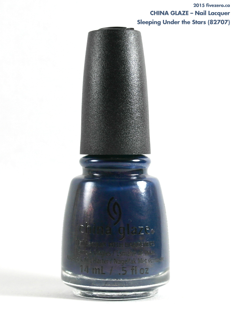 China Glaze Nail Lacquer in Sleeping Under the Stars