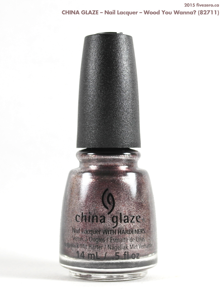 China Glaze Nail Lacquer in Wood You Wanna?