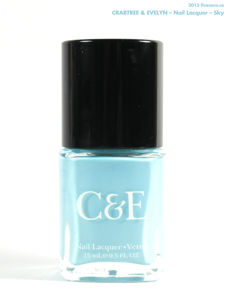 Crabtree & Evelyn Nail Lacquer in Sky