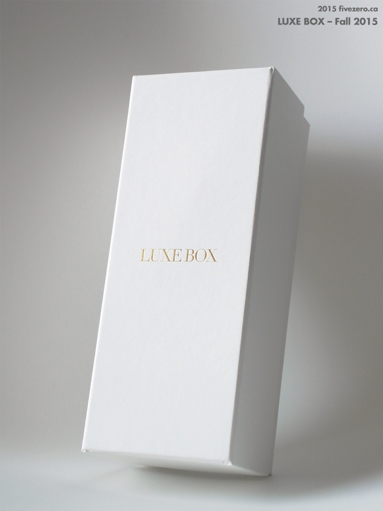 Luxe Box packaging