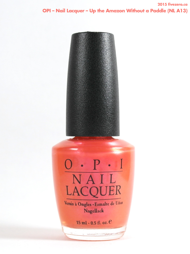 OPI Nail Lacquer in Up the Amazon Without a Paddle
