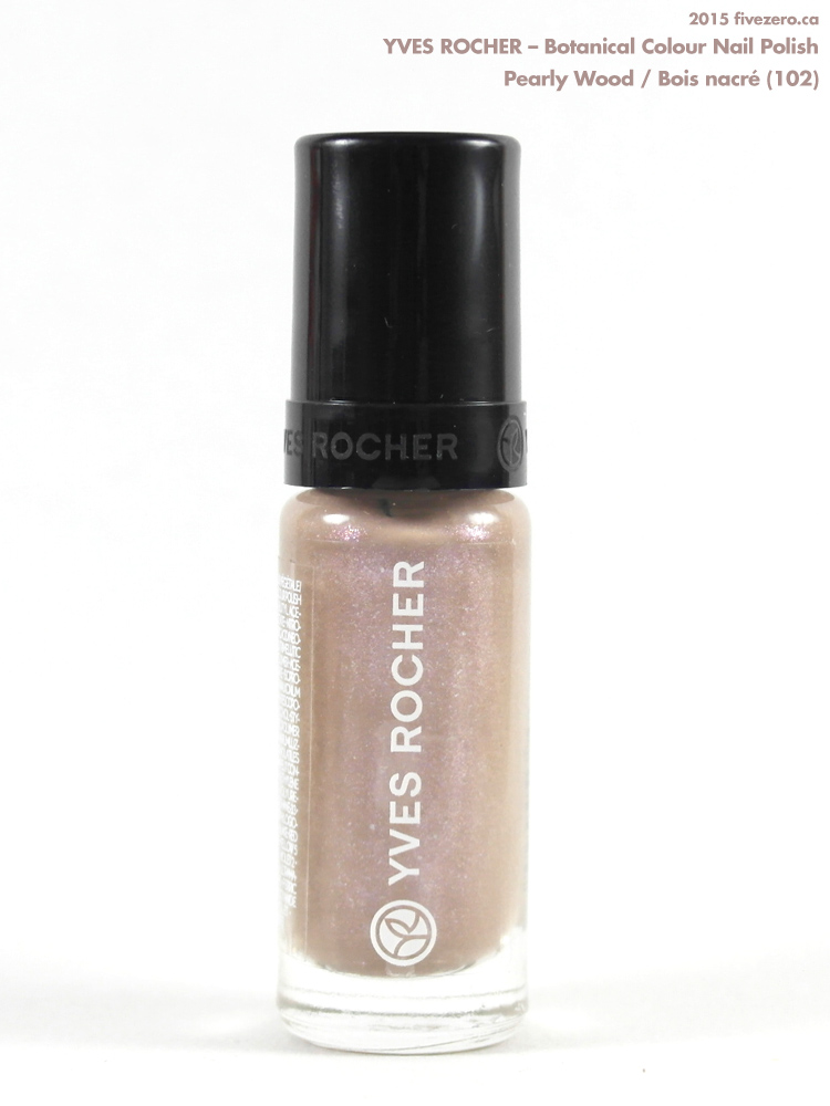 Yves Rocher Botanical Colour Nail Polish in Pearly Wood / Bois nacré