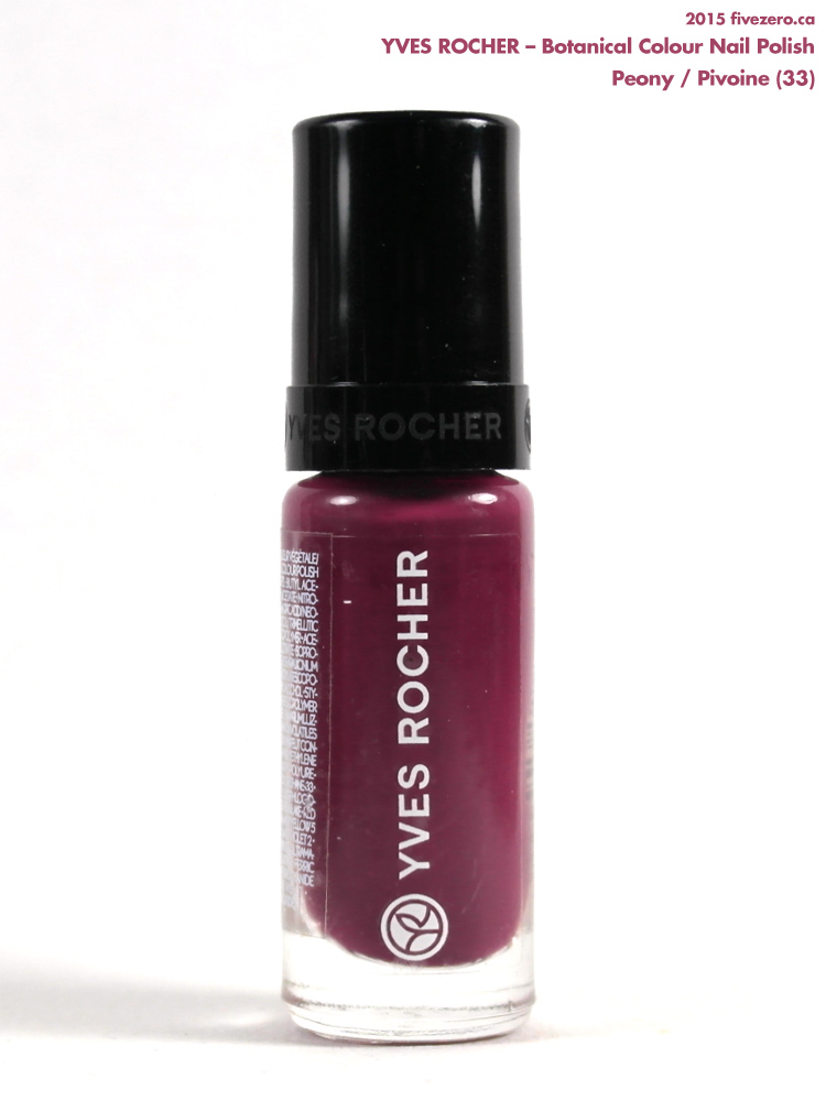 Yves Rocher Botanical Colour Nail Polish in Peony / Pivoine