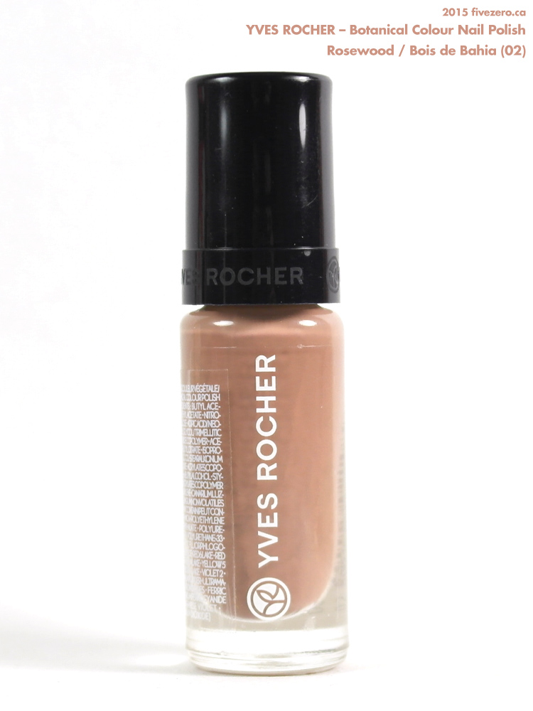 Yves Rocher Botanical Colour Nail Polish in Rosewood / Bois de Bahia