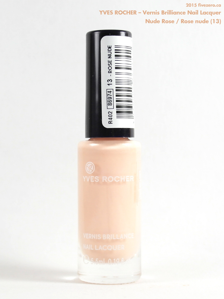 Yves Rocher Vernis Brilliance Nail Lacquer in Nude Rose