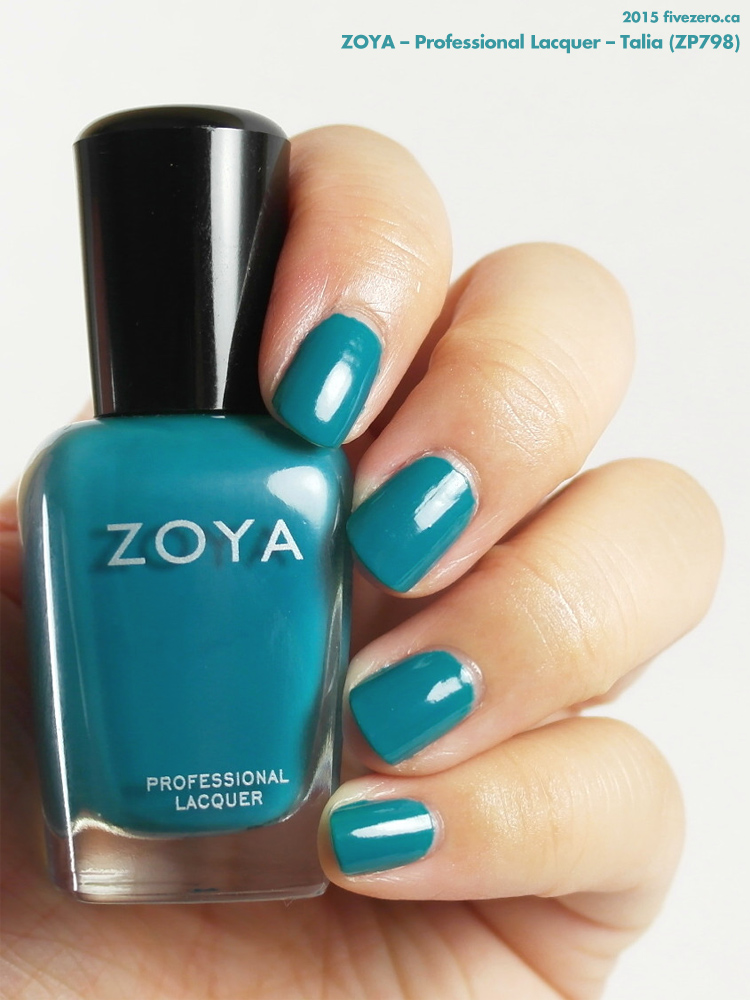 Zoya Professional Lacquer in Talia, swatch