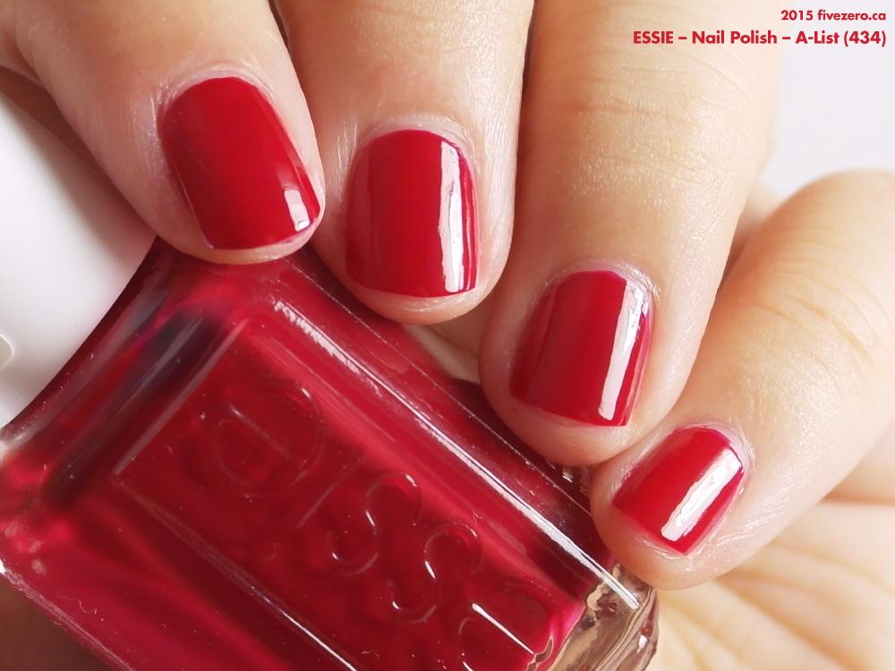 Throwback Thursday Essie A List Nail Polish Swatch Amp Review Fivezero
