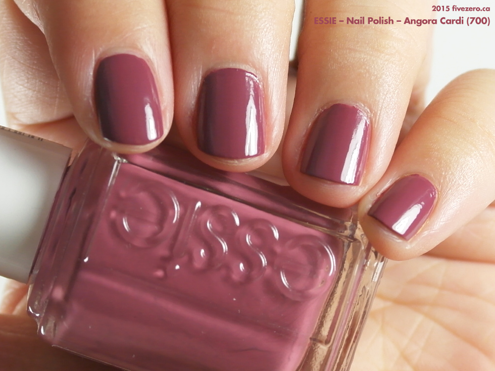 Essie — Angora Cardi (Nail Polish) Swatch & Review – fivezero