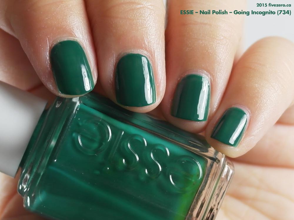 Essie Going Incognito Nail Polish Swatch Amp Review Fivezero
