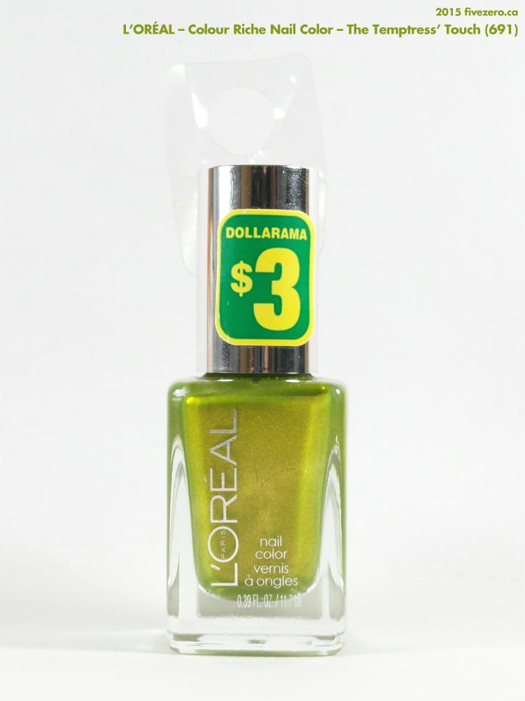 L'Oréal — The Temptress' Touch (Colour Riche Nail Color ...