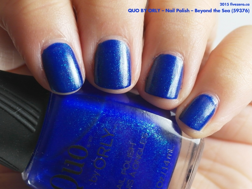 Quo by Orly Nail Polish in Beyond the Sea