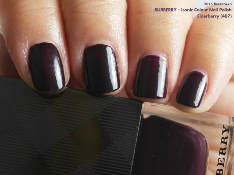 Burberry — Elderberry (Iconic Colour Nail Polish) Swatch & Review ...
