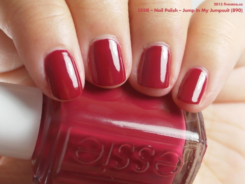 Essie Nail Polish in Jump In My Jumpsuit, swatch