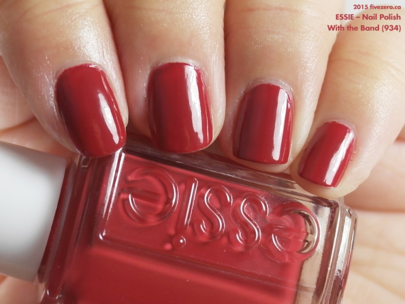Essie Nail Polish in With the Band, swatch
