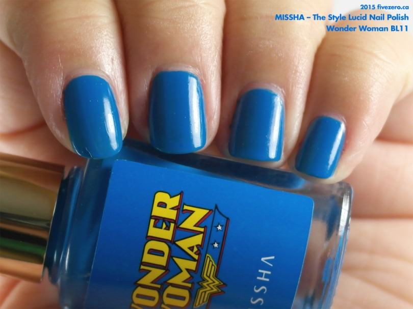Missha The Style Lucid Nail Polish in Wonder Woman BL11
