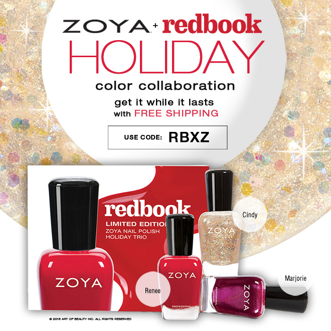 Zoya + Redbook nail polish naming contest, 2015