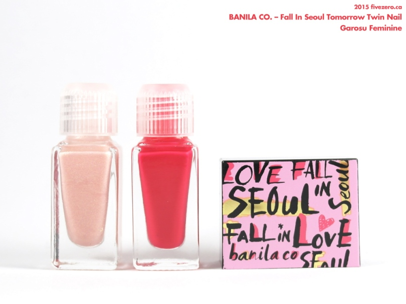 Banila Co. Fall in Love Tomorrow Twin Nail in Garosu Feminine
