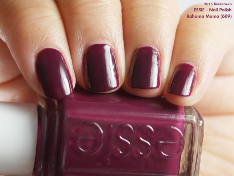 Essie Nail Polish in Bahama Mama, swatch