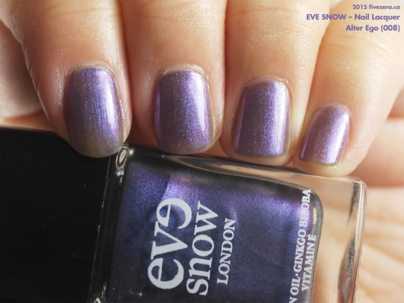 Eve Snow — Alter Ego (Nail Lacquer) Swatch & Review – fivezero
