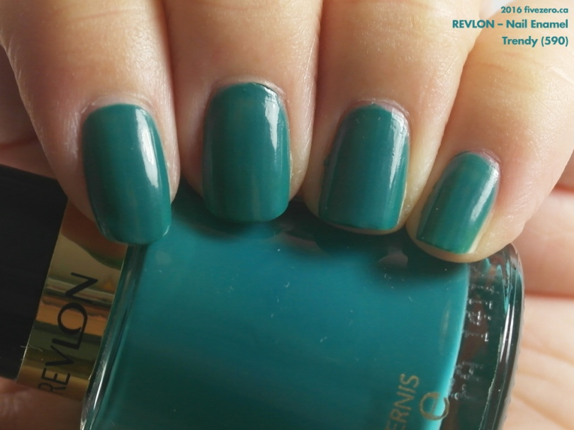 Revlon Nail Enamel in Trendy, swatch