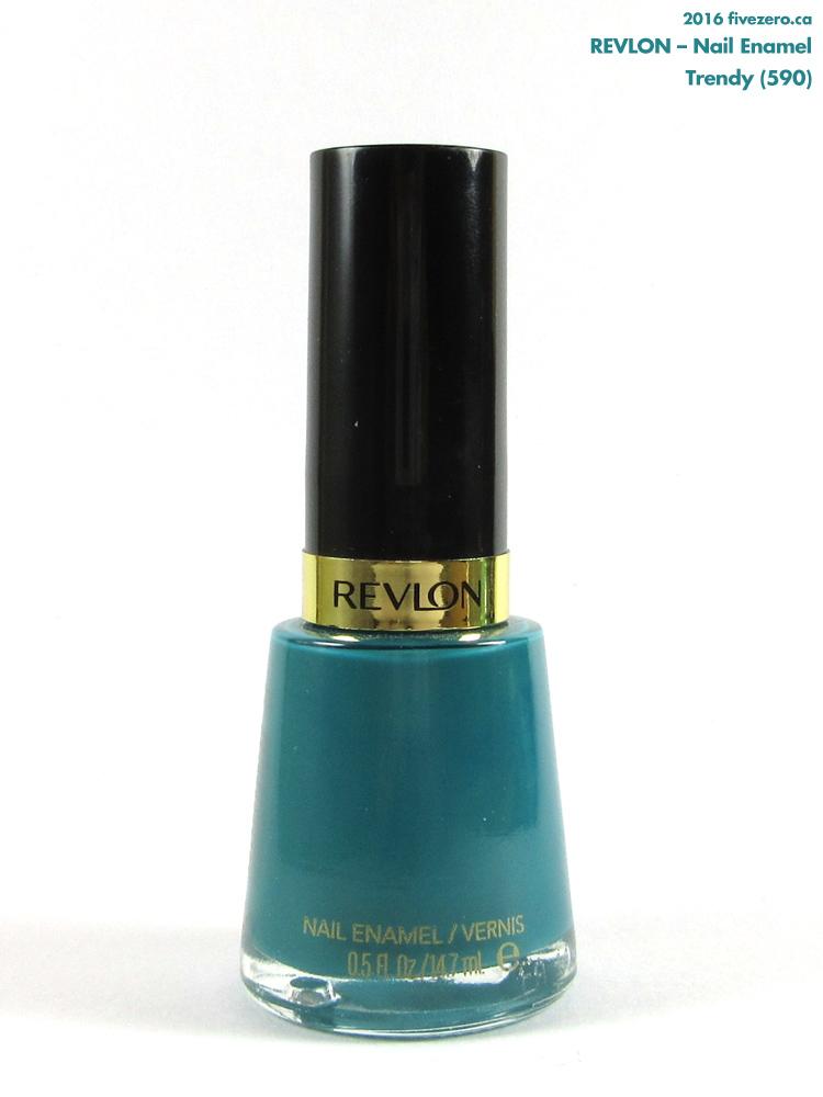 Revlon Nail Enamel in Trendy (590)