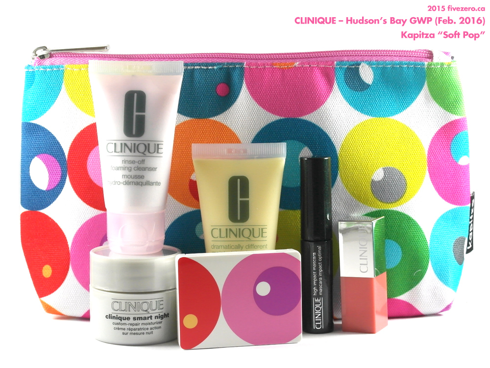 Haulage! Clinique GWP at Hudson's Bay (Spring 2016)