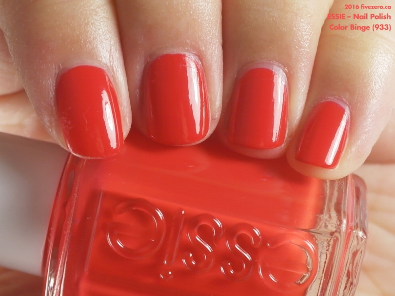 Essie — Color Binge (Nail Polish) Swatch & Review – fivezero