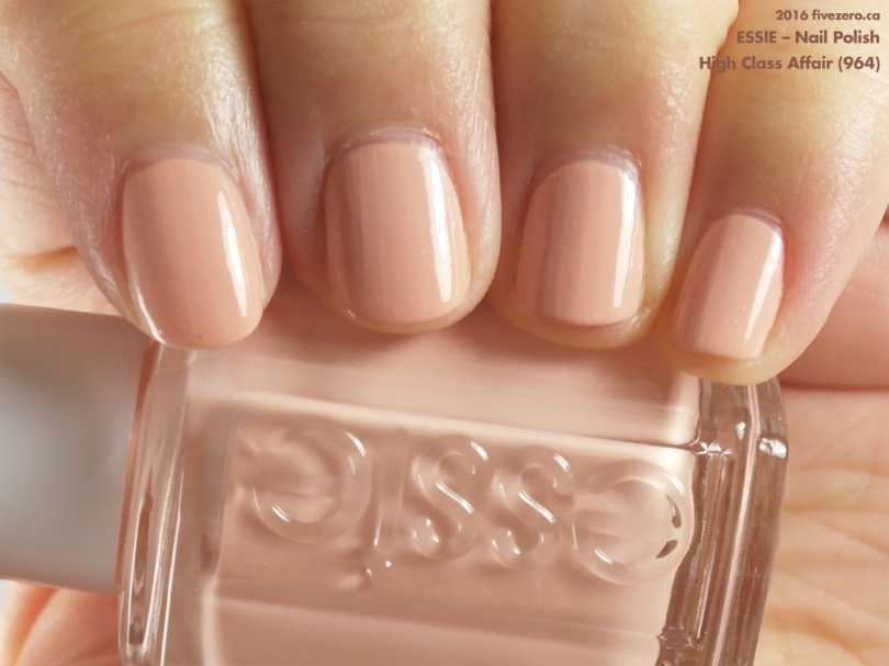 Essie — High Class Affair (Nail Polish) Swatch & Review – fivezero