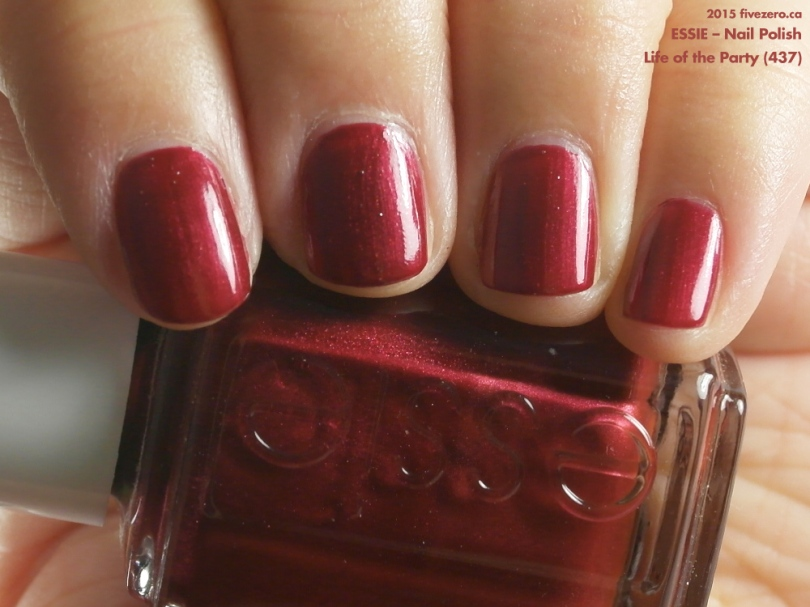 Essie — Life of the Party (Nail Polish) Swatch & Review – fivezero