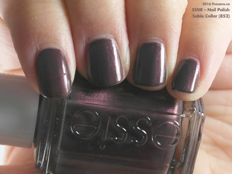 Essie — Sable Collar (Nail Polish) Swatch & Review – fivezero